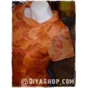Short Sleeve Organza Silk Blouse